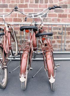 cool copper colored bikes