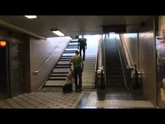 A group of engineers in Stockholm tried an experiment to see if they could influence people to take the stairs instead of the escalator.  Wait until you see what they did!