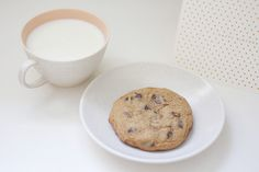 chocolate chip cookies by Life, Set Sail, via Flickr