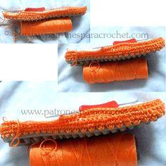 Como tejer  el zapato crochet