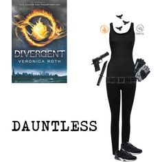I want to dress like the dauntless