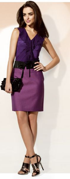 Too much purple? Nope.
