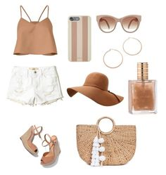 """summerr"" by louiza-ap on Polyvore featuring TIBI, Michael Kors, Jennifer Zeuner, Schutz, Hollister Co. and JADE TRIBE"