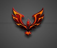 Commission: Phoenix by KuyaNix on DeviantArt Some sort of falta environnant les parques ymca calles Lobo Tribal, Phoenix Images, Phoenix Artwork, Hacker Wallpaper, Phoenix Design, Eagle Art, Wings Logo, Editing Background, Game Logo