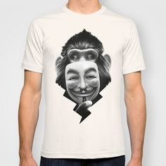 Anonymous T-shirt by Dr. Lukas Brezak - $22.00