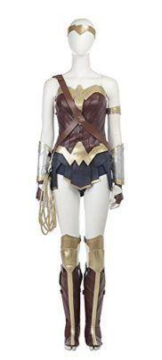 Mtxc Womens Wonder Woman Cosplay Diana Prince Full Set I want to be wonder woman for halloween she is incredible! #DCcomics #wonderwoman #halloween #halloween2017 #superhero