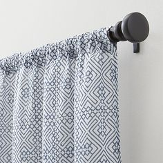 "Easton 48""x96"" Blue Curtain Panel 
