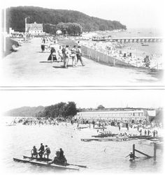 Gdynia-Orłowo morskie lata 30-te. Homeland, Paris Skyline, Travel, Historia, The Sea, Viajes, Destinations, Traveling, Trips