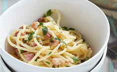 Cheap family meals: Recipes under per head - Bacon and broccoli pasta salad - goodtoknow Salmon Pasta Recipes, Yummy Pasta Recipes, Lunch Recipes, Cooking Recipes, Healthy Recipes, Dishes Recipes, Meat Recipes, Recipies, Cheap Family Meals