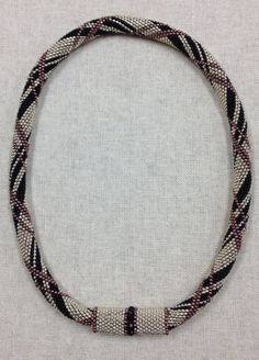 Peyote With A Twist, PWAT, Peytwist - Seed Bead Necklace