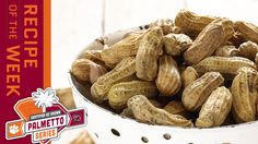 Certified SC Grown Boiled Peanuts | Palmetto Series Boiled Peanuts, Tailgating Recipes, Slow Cooking, Crock Pot, Dinners, Yummy Food, Dinner Parties, Slow Cooker, Delicious Food