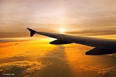 "500px / Photo ""World beneath the wing... "" by Charlie Joe"