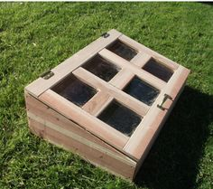 build a cold frame box in a day!