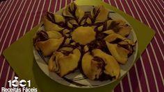 Como fazer flor de nutella em apenas 5 minutos- Vídeo