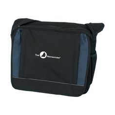 The Navigators Saddle Bag Black w/ Blue