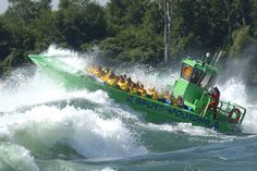 Lachine River rapids in Montreal on the St Lawrence River Canada Tours, Canada Travel, Us Travel, Old Port, St Lawrence, The World's Greatest, Rafting, Day Trips, Tourism