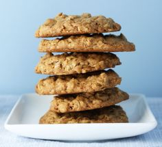 dinner or dessert: crispy chewy oatmeal cookies   really good except 15 yield are big cookies so I cut back time to 15-19 min