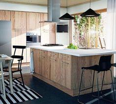 Bois brut pour la cuisine Ikea