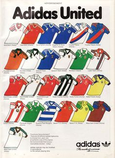 #football #jerseys #oldschool #classic #heritage #adidas