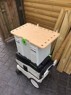 Feskit co uk Fittings To Fit Festool Systainer T Loc Mft Top Sys 3 Festool Tools, Festool Systainer, Makita Tools, Portable Workbench, Diy Workbench, Mobile Workshop, Tool Cart, Tool Bench, Shop Storage