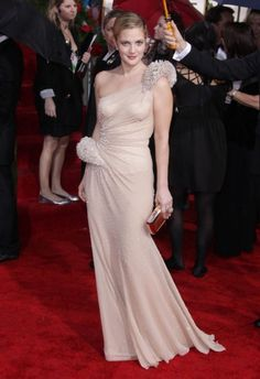 Drew Barrymore - Golden Globes 2010 - Atelier Versace