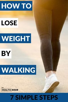 Walking to lose weight is really possible. Go out and get that fresh air and be a healthier you with the 7 simple steps to succeed on your weight loss goal Weight Loss Goals, Fast Weight Loss, Weight Loss Program, Loose Weight, How To Lose Weight Fast, Losing Weight, Walking Everyday, Easy Workouts, Elliptical Workouts