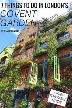 A Covent Garden guide for what to do, see and eat in London's Covent Garden area.