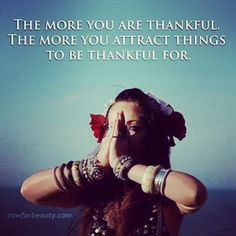 The more you are thankful, the more you attract things to Berlin thankful for  | The secret <3