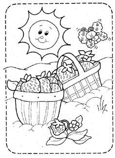 Coloring Book~Strawberry Shortcake - Bonnie Jones - Picasa Web Albums
