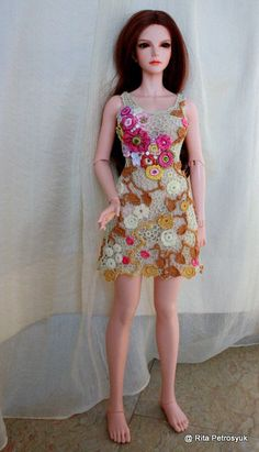 Iplehouse BJD SID 1/3 /Dress Crochet/ Irlend Lace /Handmade
