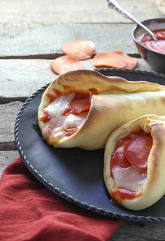 Pepperoni Provolone Pizza Cones - FoodBabbles.com