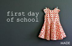First-Day Dress – MADE EVERYDAY