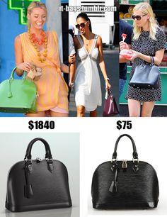Celebs love LV's Alma PM Epi Bag!