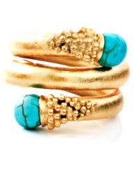 Paula Mendoza Chloe Turquoise Ring