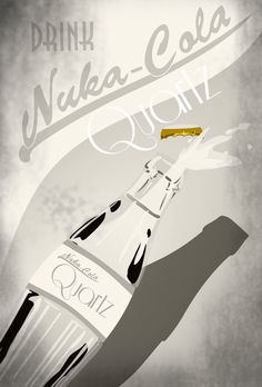 Nuka Cola Quartz Advertisement Print