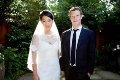 Mark Zuckerberg Ties The Knot : Get's Married To Priscilla Chan After IPO [Photos]