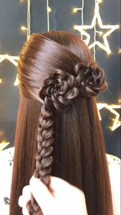 Hairdo For Long Hair, Long Hair Video, Easy Hairstyles For Long Hair, Girl Hairstyles, Everyday Hairstyles, Braids For Girls Hair, Amazing Hairstyles, Unique Hairstyles, Hairdos