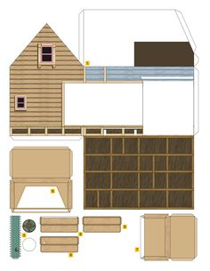 PaperToy - Up House 002