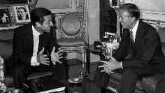 Con el presidente de Estados Unidos, Jimmy Carter.