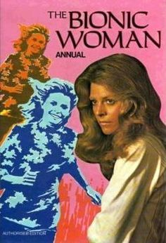 "The Bionic Woman. Made in the late 1970s, and was a ""sister"" show to ""The Six-Million Dollar Man""!"