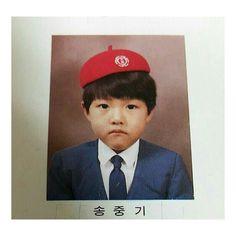 Look! How cute he is..