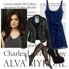 """Aria Montgomery style"" by analyst on Polyvore"