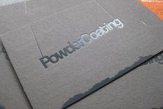 Powder Coating's Creative Business Card