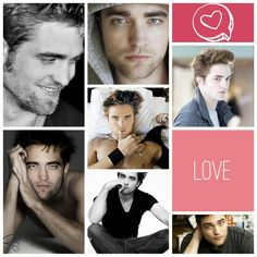 Robert Pattinson <3 by Sophia Mendoza | Created with @Slidely https://slide.ly/collage/create