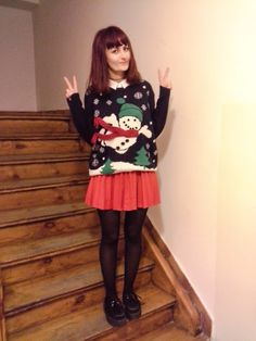 10 Ways to Wear Your Christmas Jumper - Cherry Cherry Beauty