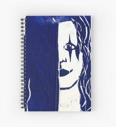 Brandon Lee (Blue) Spiral Notebook