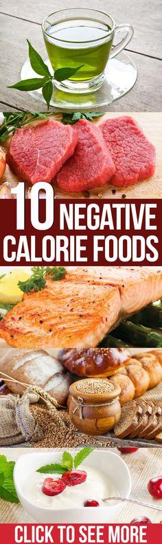 Top 10 Negative Calorie Foods