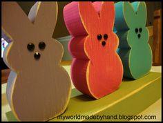 wooden peeps!