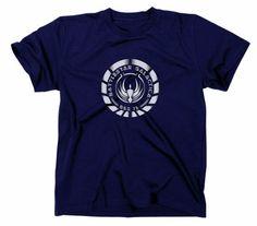 Battlestar Galactica T-Shirt, Kampfstern BSG