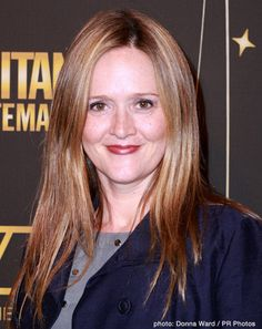 Samantha Bee of the Daily Show with Jon Stewart. She's a riot!